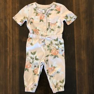 Old Navy One Pieces - Old Navy Rose Romper, 18-24 Months